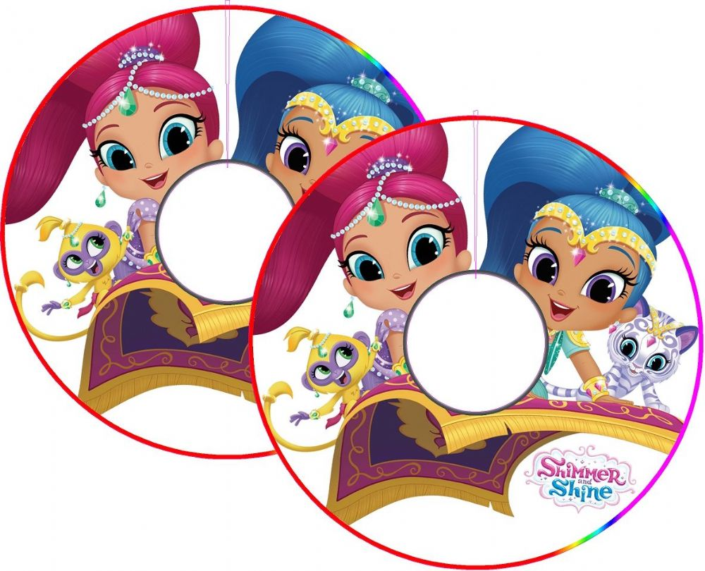 Shimmer & Shine Wheelchair Spoke Guard Sticker Skins